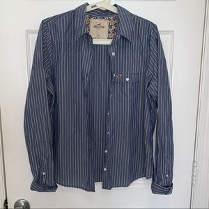 Hollister Unisex Button Up Shirt